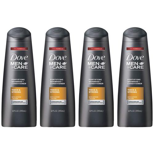 Dove Men+Care 2 in 1 Shampoo and Conditioner Thick and Stron