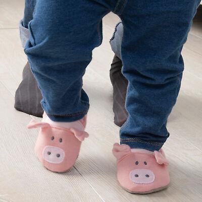 Demdaco Animal Baby Booties Cow Says Moo Pig Oink Sheep Baa 6-12 Mo NWT Boy Girl 6 Mo Baby Bootie Booties