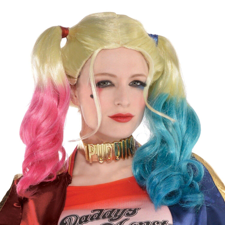 Official Ladies Suicide Squad HARLEY QUINN Kit Fancy Dress Costume Adult TV Film