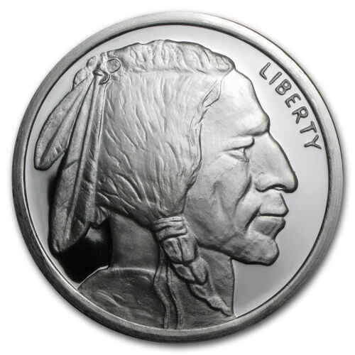 5 oz Silver Round - Buffalo - SKU #78586