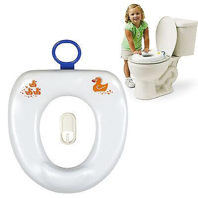 Kids Potty Training Toilet Seat Ring Bathroom Baby Toddler Trainer Boys/Girls