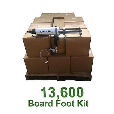 Sprayez Spray Foam Insulation.5lb Open Cell Urethane Foam 13600 Board Foot Kit
