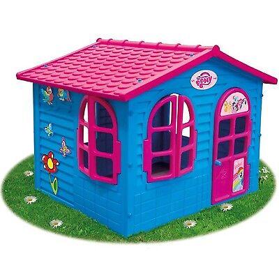 XXL Riesiges MY LITTLE PONY SPIELHAUS Kinderhaus Gartenhaus Kinderspielhaus