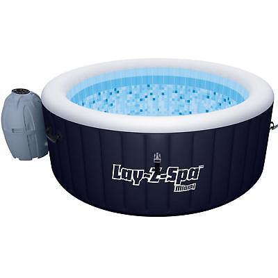 Bestway 54123 Whirlpool Lay Z Spa Miami mit Heizung Jacuzzi Massage 180x66 cm