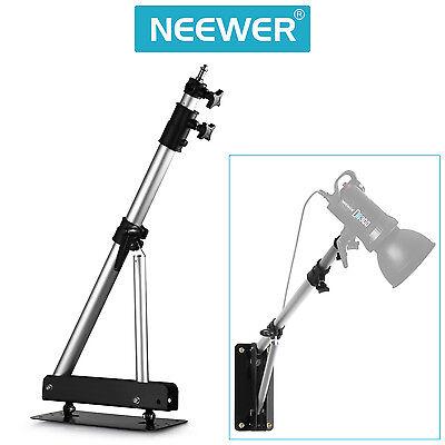 "Neewer Max Height 49"" Wall Mounting Boom Arm for Studio Video Lights Monolights"