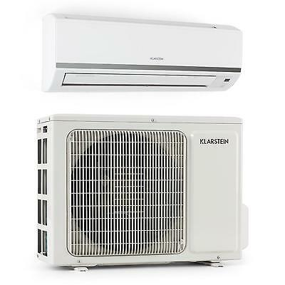 SPLIT AIR CONDITIONER 9000 BTU ENERGY CLASS A++ REMOTE 4 SPEED FAN WHITE HOME