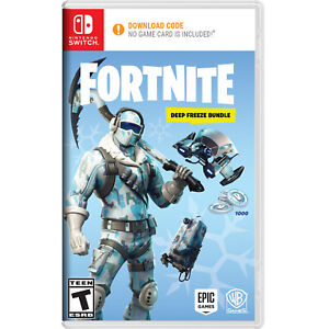 Warner Bros Fortnite Deep Freeze Bundle - Nintendo Switch - $13.00