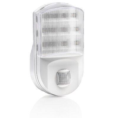 Auraglow PlugIn PIR Motion Sensor Hallway Plug Socket LED Night Light