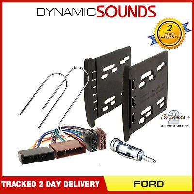 Ford Focus 1999-2005 MK1 Double DIN Car Stereo Fascia Panel Fitting Kit (Ford Focus Mk1 Double Din Fitting Kit)