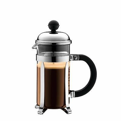 Bodum 3 Cup Coffee Press - Bodum Chambord 3 cup French Press Coffee Maker, 12 oz., Chrome