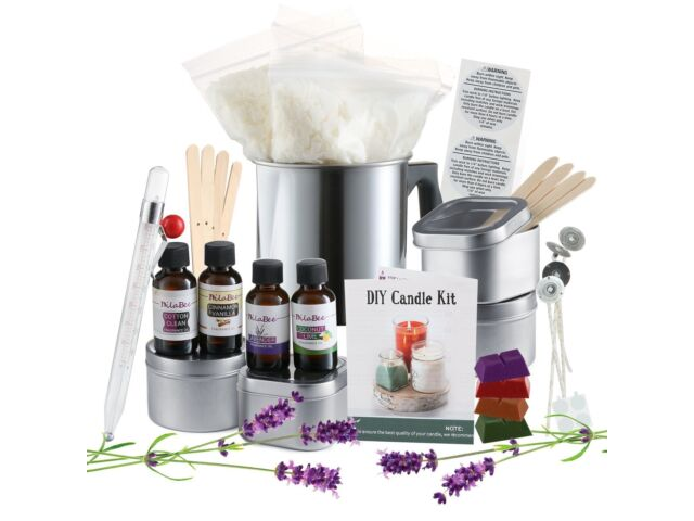 DIY Candle Making Kit Create Large Scented Soy Can