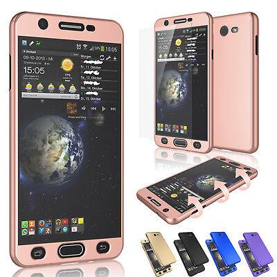 Plastic 7 (For Samsung Galaxy J7 Prime/J7 Sky Pro/J7 Perx/Halo Hybrid Case + Tempered)