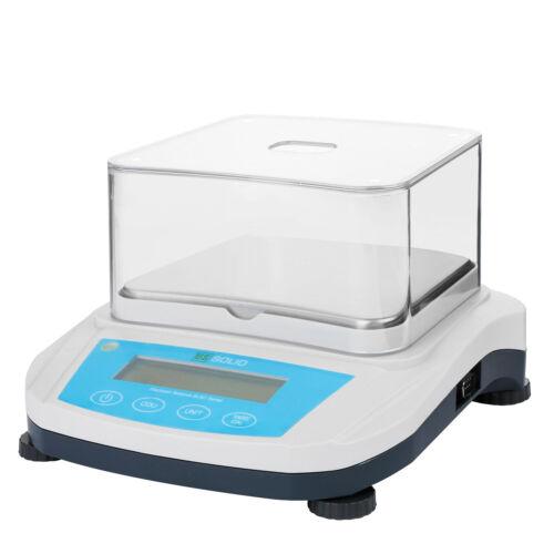 U.S. Solid 3000 x 0.01 g 3 kg Digital Precision Balance Scale Precision Weight