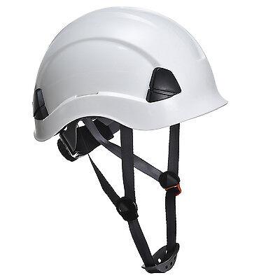 PORTWEST PS53, weiss, Höhenarbeitshelm, Helm, Schutzhelm, Arbeitshelm, Bauhelm
