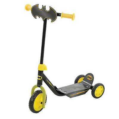 Batman My First Tri-scooter Outdoor Indoor Push Ride-on Scooter Toy Activity New