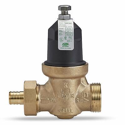 Zurn 34-nr3xldupex Lead-free Plastic Bell Water Pressure Reducing Valve 34 Fnpt