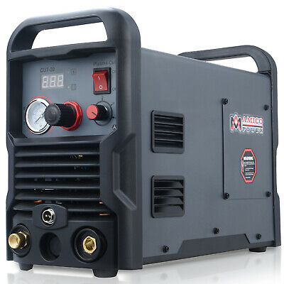 Amico Cut-30 30 Amp Air Plasma Cutter 110230 Dual Voltage Cutting Machine New
