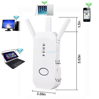 AC 750Mbps Dual Frequency 360 ° Wifi Cover Broadband Wireless Router Repeater