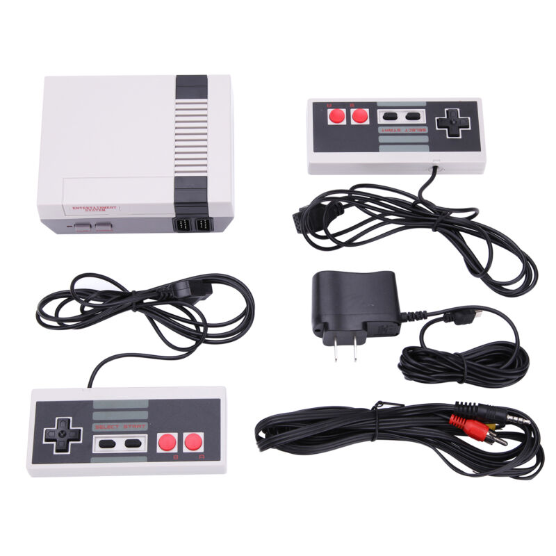 New Brand Vintage Retro Classic Game Console TV over 600 Games Gift for Kids US