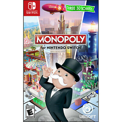 Monopoly for Nintendo Switch Switch [Brand New]