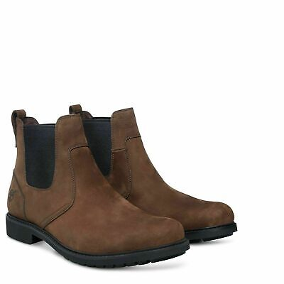 Timberland 5552R Earthkeepers Stormbuck Chelsea Mens Boots Brown Size