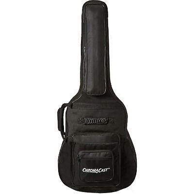 ChromaCast Acoustic Guitar 6-Pocket Padded Gig Bag Case Fits Most Guitars