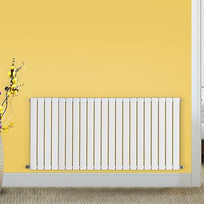 600x1428mm Gloss White Designer Flat Panel Radiators Central Heating Rads