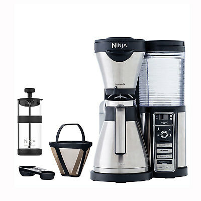 Ninja Auto iQ Coffee Maker Brewer Bar Methodology with Stainless Steel Thermal Carafe