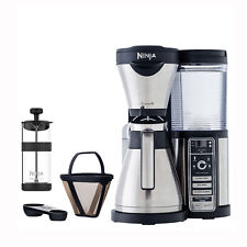 Ninja Auto iQ Coffee Maker Brewer Bar System with Stainless Steel Thermal Carafe