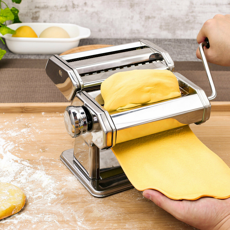 Tooluck Steel Pasta Maker Noodle Making Machine Dough Cutter