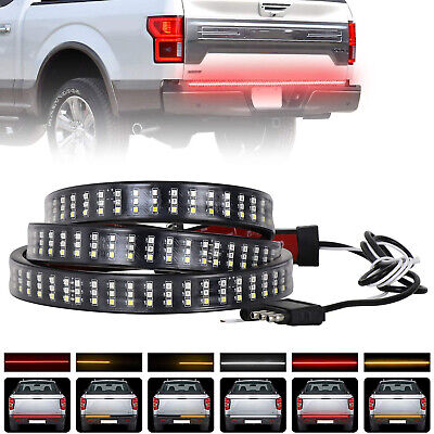 "Topline For Toyota 49/"" Universal Signal//Reverse LED Tailgate Tail Light Bar"