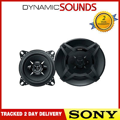 SONY XS-FB1030 3 Way 4 inch 10 cm 440 Watts Car Van Door Dash Shelf Speakers
