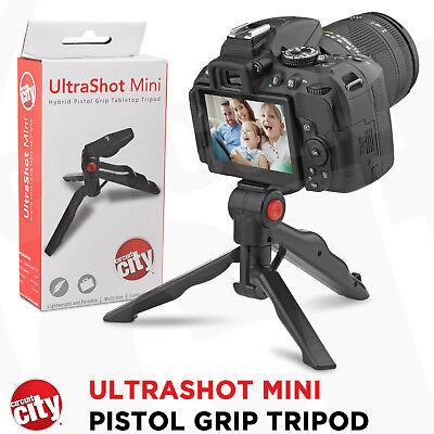 Circuit City Pistol Grip Tabletop Tripod for Canon Nikon Sony Pentax Panasonic