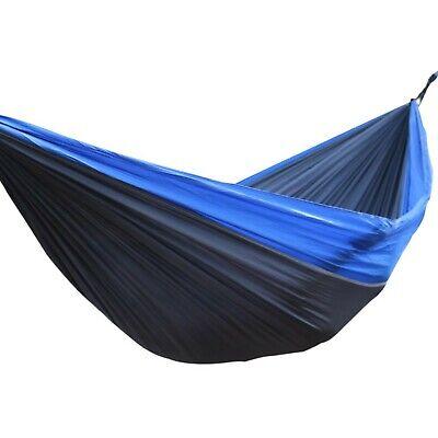 hamdhbgs double nylon hammock blue gray