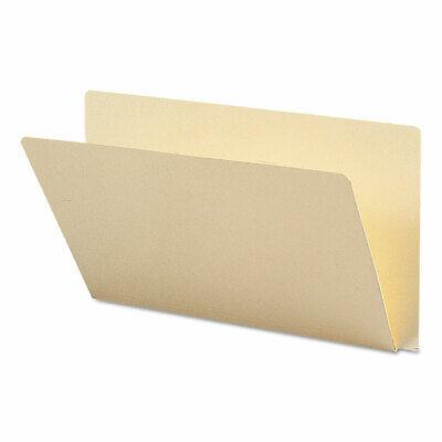 Smead Folders Straight Cut Single-ply Extended End Tab Legal Manila 100box