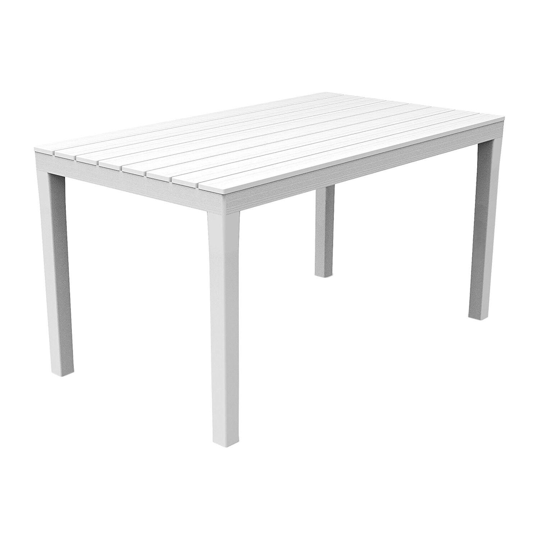 Gartentisch Fiocco 80x75cm Kunststoff Terrasse Grün Balkon