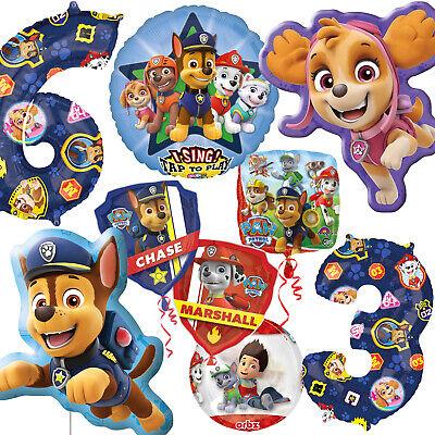 Folienballons - PAW PATROL - Folienballon Ballons Party - Dekorationen Party