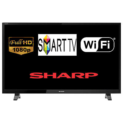 "Sharp LC-40FG5151K 40"" Smart LED TV WiFi Full HD 1080p Freeview USB Media Player"
