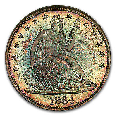 Click now to see the BUY IT NOW Price! 1884 LIBERTY SEATED HALF DOLLARPR 66 PCGS   SKU 103653