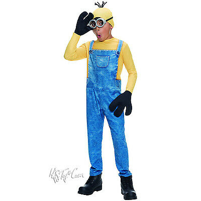 NWT Rubies MINION the Movie Kevin Child Halloween Costume Set M(8-10)](Kevin Costume)