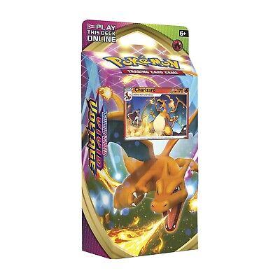 Pokemon Vivid Voltage Charizard Theme Deck New Promo Holo Cracked Ice