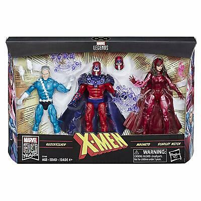 Marvel Legends MAGNETO QUICKSILVER SCARLET WITCH MARVEL 80 Years Amazon exclusiv
