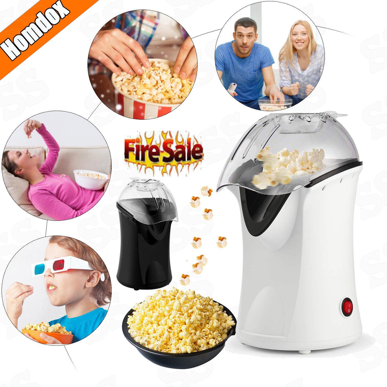 Hot Air Popcorn Popper Electric Machine Maker 4 Cups of Popc
