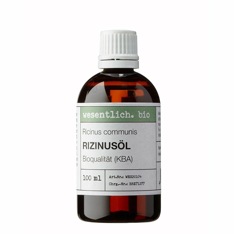 Rizinusöl BIO kaltgepresst 100ml von wesentlich.