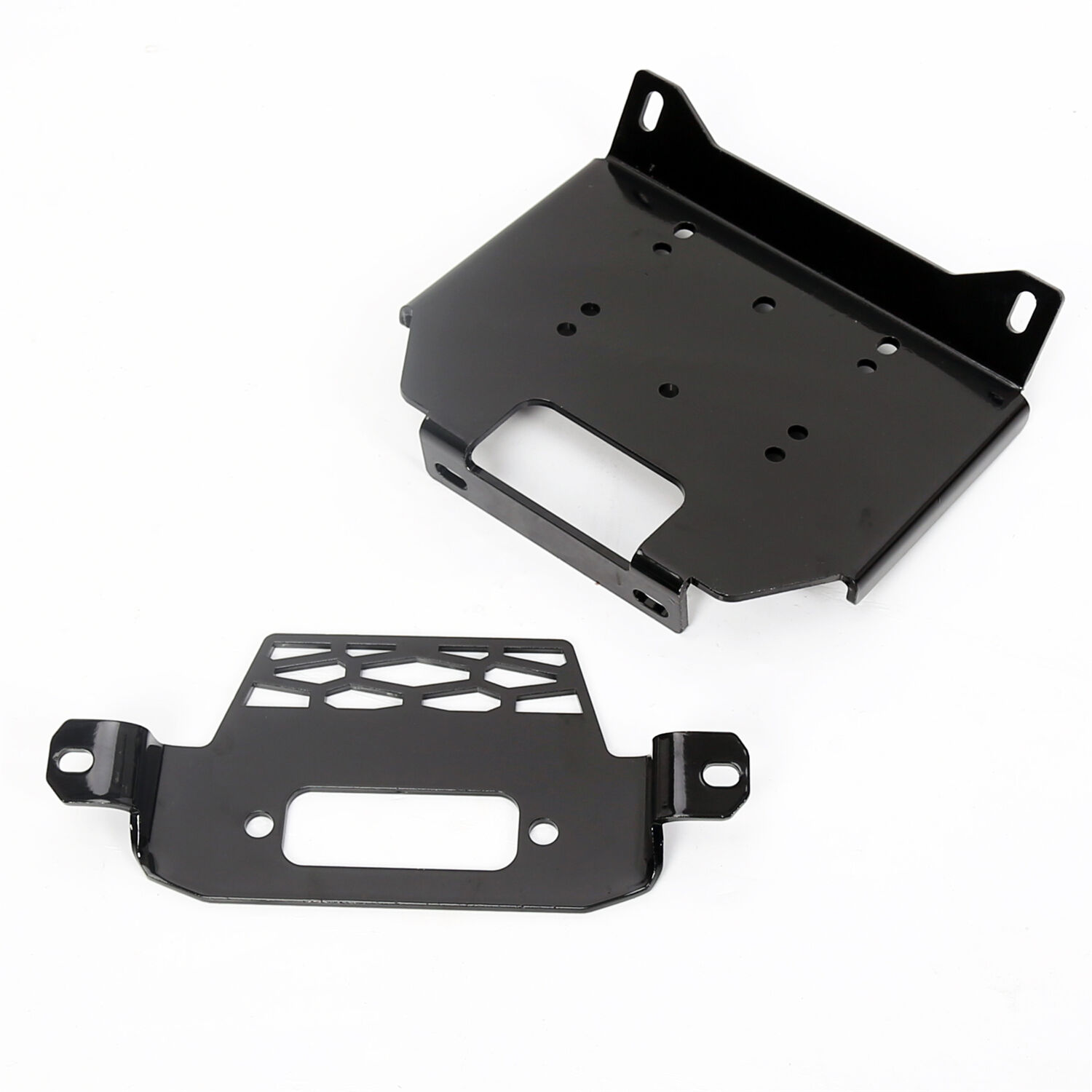 Winch Mount Plate Bracket For Polaris 15-16 RZR900&14-16RZR 1000&General 101220