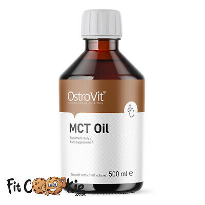 MCT Oil 500ml – OstroVit 100% pure fatty acids diet weight fat loss energy
