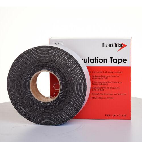 "Diversitech 6-9718 Foam Insulation Tape 1/8"" x 2"" x 30"