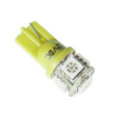 194 Type Led Replacement Bulb (AutoMeter 3287 Replacement Gauge Yellow LED Bulb Type 161,193,194 and 168 )