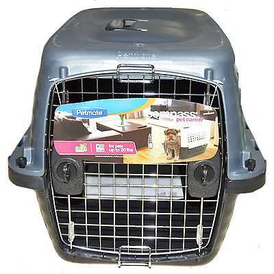 "Compass Pet Carrier, up to 20 lbs, for dogs & cats, 24.6Lx16.9Wx15H"" Made in USA"