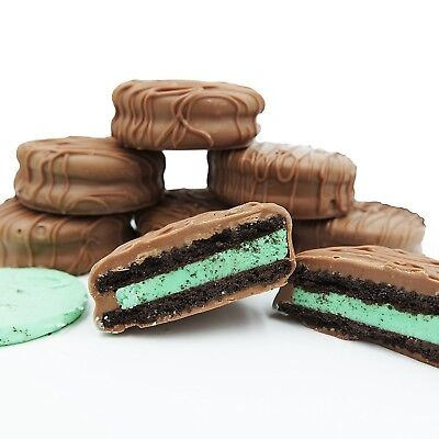 Philadelphia Candies Milk Chocolate Covered Mint Creme OREO® Cookies, 8 Ounce (Oreo Mint)